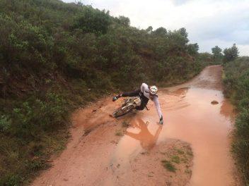 bici caida